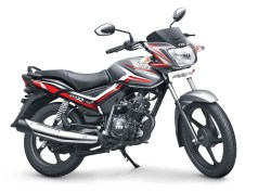 TVS StaR City+ Grey Black Dual Tone colour option