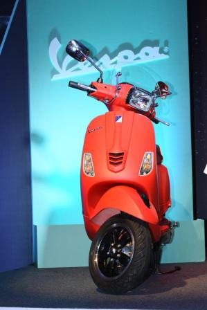 New Piaggio Vespa SXL for India