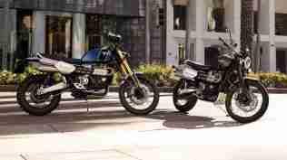 2019 Triumph Scrambler 1200 XC and XE