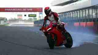 Alessandro Valia Ducati DRE-Track Days India