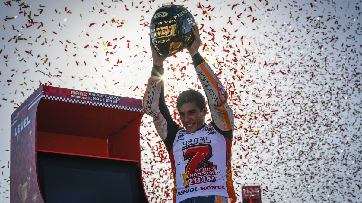 Marc Marquez grabs his 7th world championship