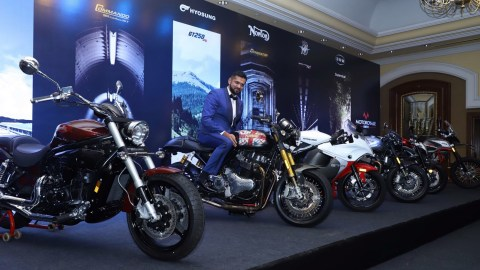 Motoroyale announces 5 motorcycle brand tie up