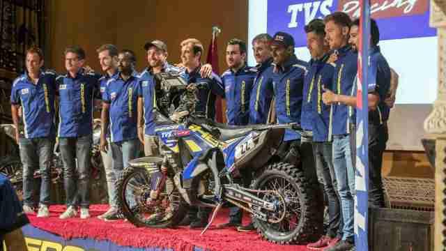 Sherco TVS Rally Factory Team for Dakar 2019