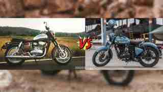 Jawa versus Royal Enfield