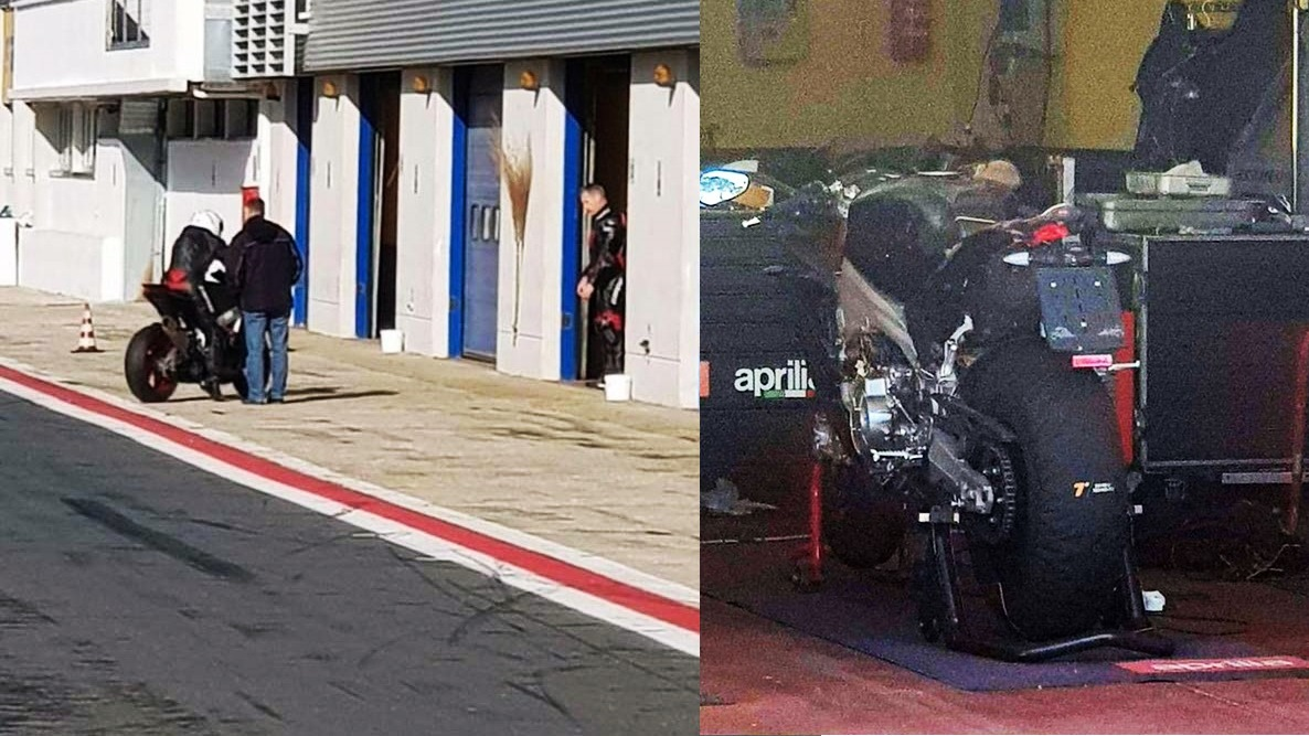 Aprilia RS 660 production version spotted testing
