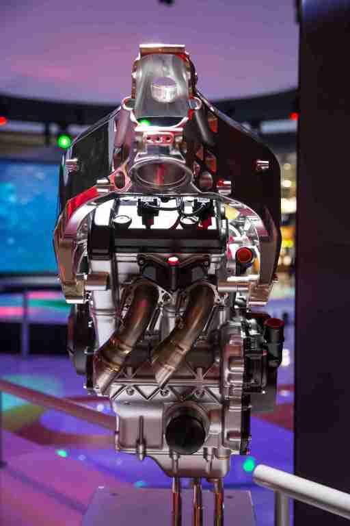 Aprilia RS660 engine