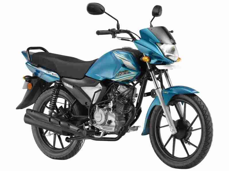 Yamaha Saluto RX - Snappy Cyan