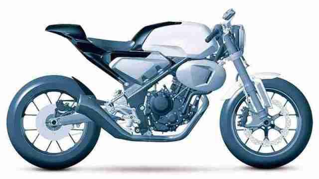 Honda 300 TT Cafe Racer concept
