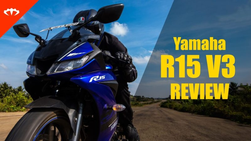 Yamaha R15 V3 detailed road review video