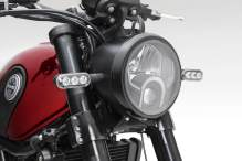 Benelli Leoncino 500 India headlight