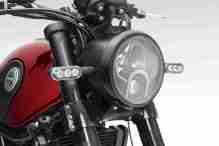 Benelli Leoncino 500 India headlight