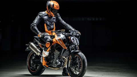 KTM 790 Duke spotted in India
