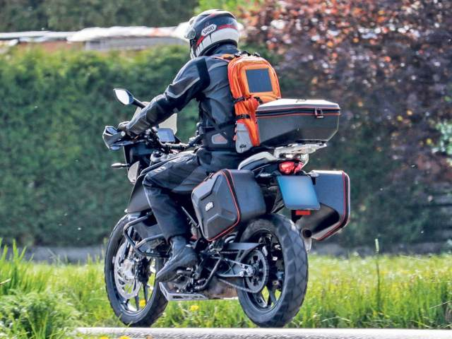 KTM 390 Adventure spy shot