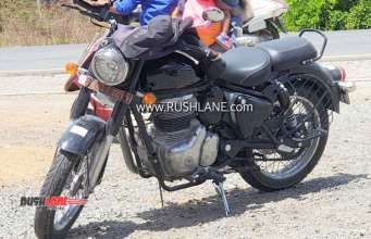 2020 Royal Enfield Classic spy shot