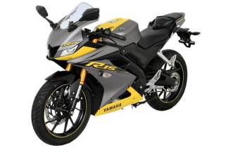 2019 Yamaha R15 V3 yellow-grey colour