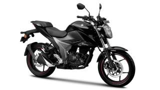 New updated Suzuki Gixxer - colour option