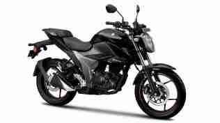 New updated Suzuki Gixxer - colour option