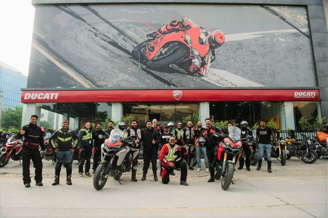 Ducati Dream Tour to Spiti Valley a success