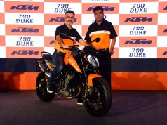 Launching the new KTM 790 Duke