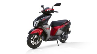 TVS NTORQ 125 Race Edition with LED headlights and DRLs