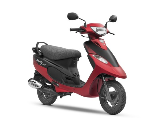 TVS Scooty Pep+ Coral Matte