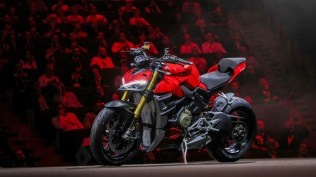 Ducati Streetfighter V4 S launch