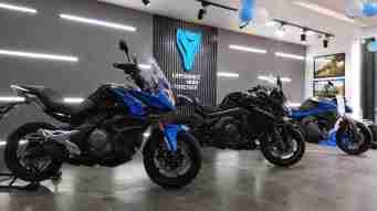 CF Moto Bengaluru showroom