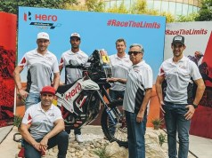 Hero Motocorp announces 4 man team for Dakar 2020
