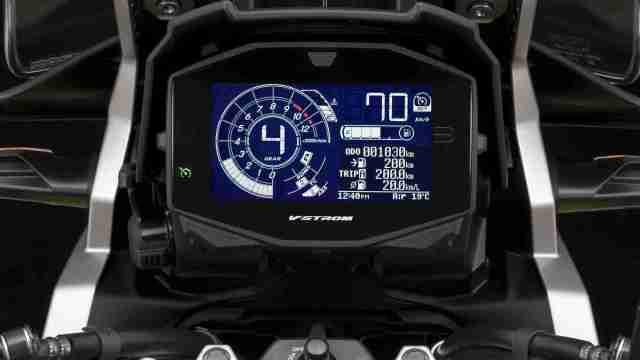 Suzuki V-Strom 1050XT and V-Strom 1050 digital meter tft screen
