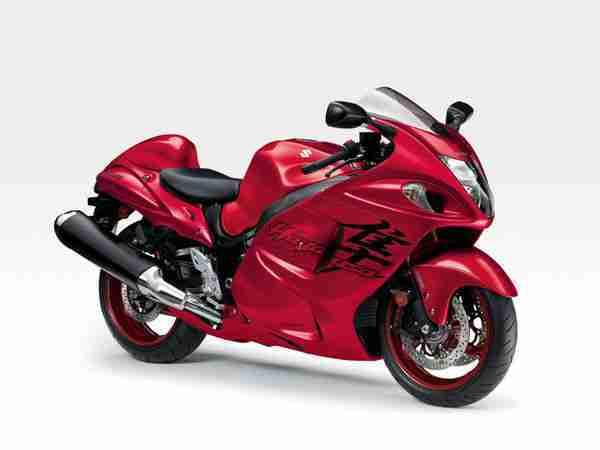 2020 Suzuki Hayabusa in Candy Daring Red
