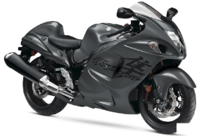 2020 Suzuki Hayabusa in Metallic Thunder Gray