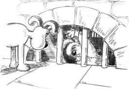Wallace & Gromit: The Curse of the Were-Rabbit - 90+ Original Concept Art Collection