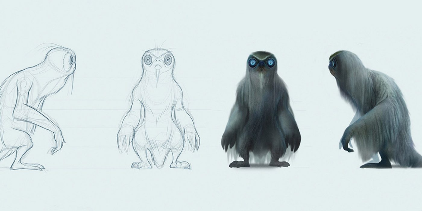 Image result for fantastic beasts creatures drawings