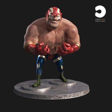 Wrestler_character_Turntable_001_00000