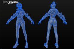 Overwatch: 100 Character Design Wireframes