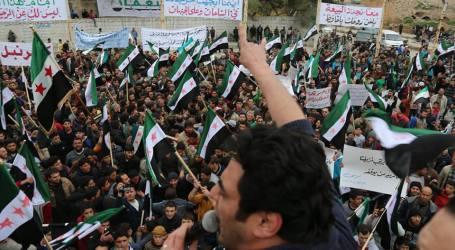 المظاهرات السلمية تشتعل في سورية من جديد