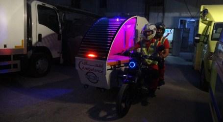 ابتكار طبي جديد .. اختراع دراجة إسعاف في حلب
