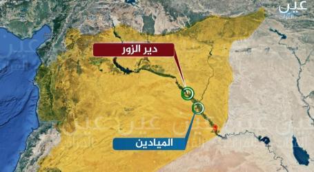 شبكة تكشف مواقع تخزين إيران لصواريخها في ديرالزور