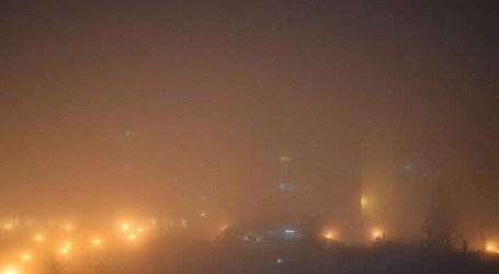 ضباب إشعاعي يتنشر في سماء دمشق