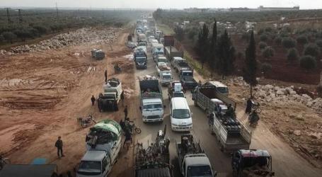خلال 12 يوماً.. نزوح قرابة 170 ألف مدني مِن ريفي حلب وإدلب