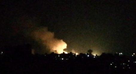 قصف إسرائيلي يستهدف مواقع إيرانية بمحيط العاصمة دمشق