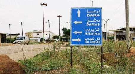 بعد التوتر الأخير.. اجتماع جديد في درعا والأمور تذهب للتهدئة