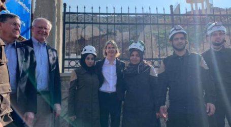 لأول مرة وفد أممي رفيع المستوى يدخل إدلب .. والأوضاع الإنسانية تزداد سوءا