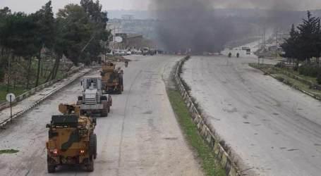 """قتلى وجرحى بنيران قوات تركية حاولت فض الاعتصام على """"إم 4"""""""