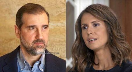 """وزارة العدل تنفي تعيين أحد أقرباء أسماء الأسد """"حارس"""" على أموال رامي مخلوف"""