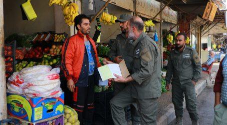 ضابطة جنديرس تراقب الأسعار وتضبط المواد الغذائية منتهية الصلاحية