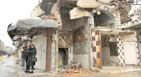 السلطة السورية تزيل عشرات العقارات في حمص بتكاليف باهظة
