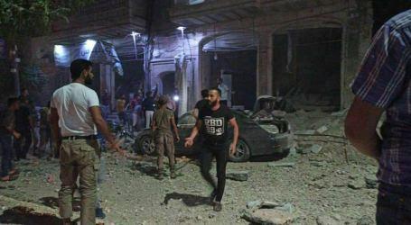 غارات روسية على الباب في حلب تخلّف قتيل وجرحى