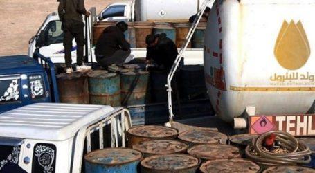 طائرة مسيرة تستهدف سوق المحروقات الرئيسي وتد في إدلب