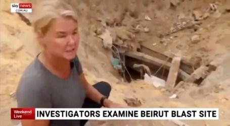 انفجار بيروت يكشف أنفاقا تابعة لحزب الله أسفل المرفأ